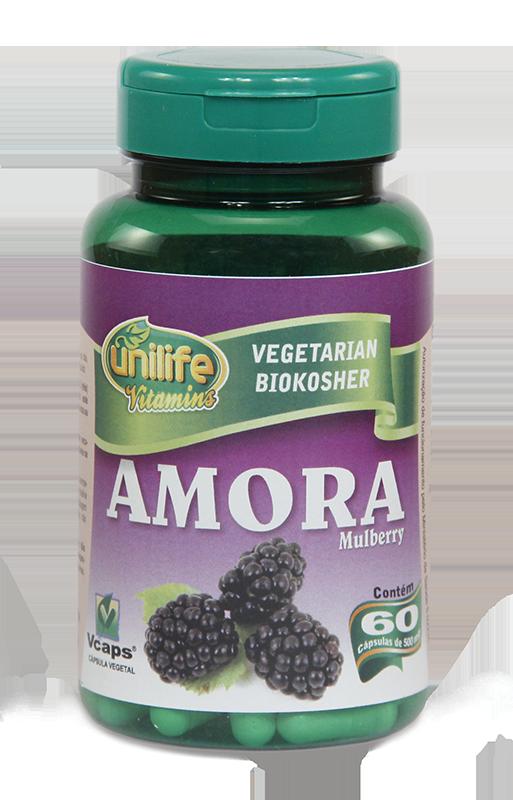 Amora Suplemento de Selênio, vitamina C e Zinco - 60 Cáps 500mg