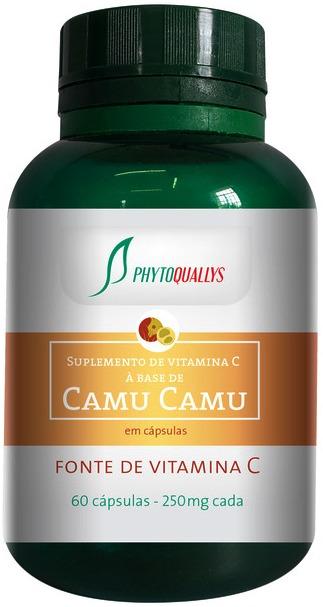 Camu-Camu - PhytoQuallys - Frasco com 60 cápsulas de 250mg