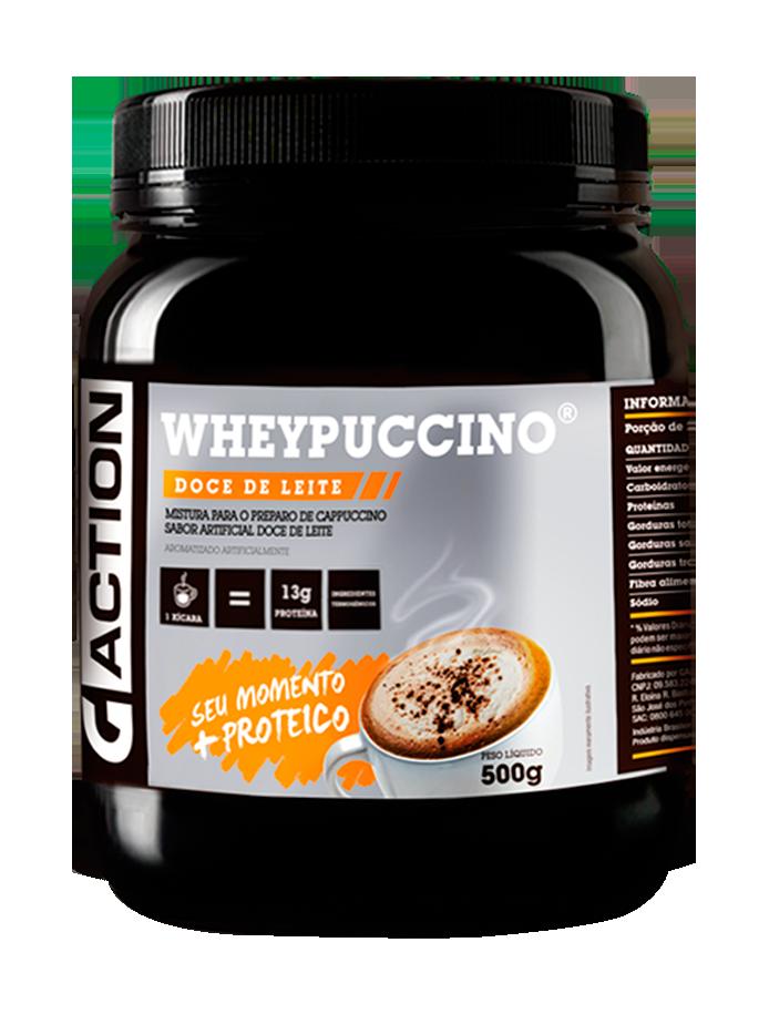 Whey Protein. WHEYPUCCINO® Doce de Leite