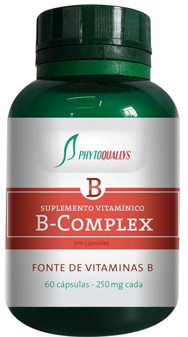 Complexo B - 60 Cápsulas com 250 mg