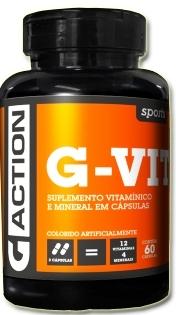 G-Vit - 60 Cáps Multivitaminico G_ACTION