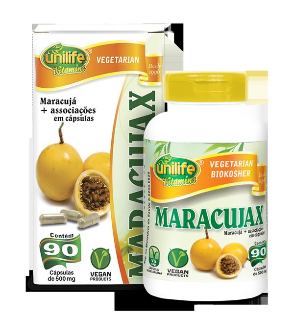 Maracujax - Calmante Natural de Maracujá 90 Cápsulas