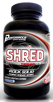 SHRED THERMAX SCIENCE® - 90 tabletes  - Performance Nutrition