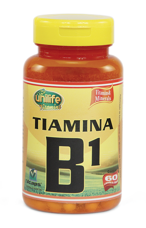 Vitamina B1 - 60 Cáps 500mg - Unilife
