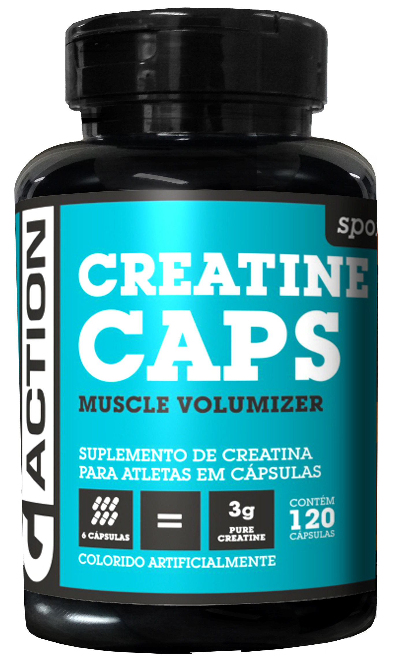 Creatina G-ACTION 120 cápsulas de 500mg