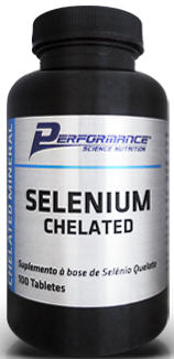 Selenium Chelated - 100 tabletes - Performance Nutrition