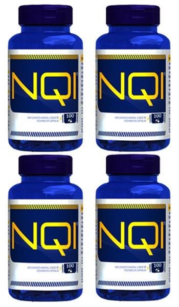 1add53616b4 PROMOÇÃO - 4 Frascos de NQI - c  100 cápsulas cada frasco Gauer do Brasil