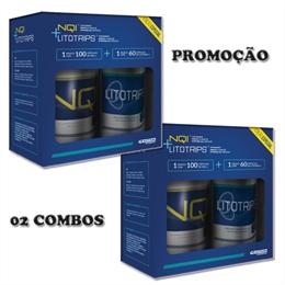 02 Combos PROMOÇÃO LitoTrips 60 cáps + NQI 100 cáps