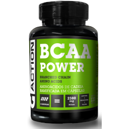 BCAA POWER - 120 cáps - G-ACTION - BCAA POWER - 120 cáps