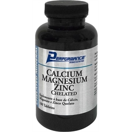Calcium Magnesium Zinc Chelated - 100 tabletes