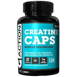 Creatina G-ACTION 120 cápsulas de 500mg - Creatina