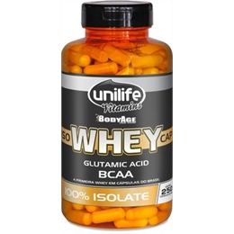 IsoWhey Cap 100% isolate 250 cáps Unilife