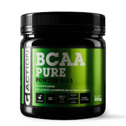 Bcaa Powder limão  300 gr Gaction