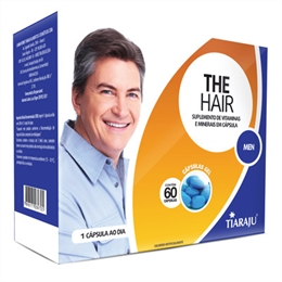 The Hair Men 750 mg 60 cápsulas Tiaraju