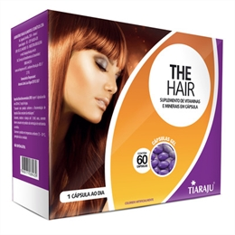 The Hair 750 mg Tiaraju 60 cápsulas