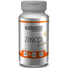 Zinco Quelato- 60 cáps de 900 mg G-ACTION