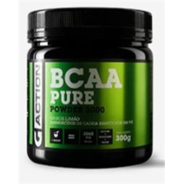 BCAA POWDER SABOR LIMÃO  300 gr Gaction
