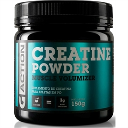 Creatina Powder 150 gramas  Gaction