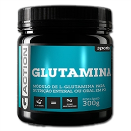 Glutamina 300g Gaction sports