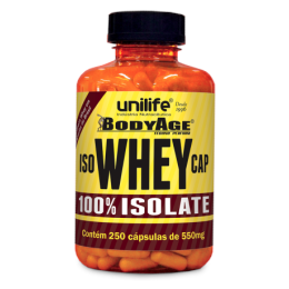 IsoWhey Cap 100% isolate 250 cáps - Unilife