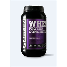 Whey Protein Concentrado  900 gramas  Gaction